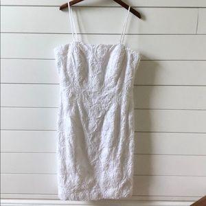 Calvin Klein short white summer dress